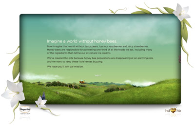 Haagen Dazs Help the Honey Bee campaign benefits everyone including the brand itself.