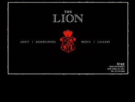 the lion restaurant branding grits grids