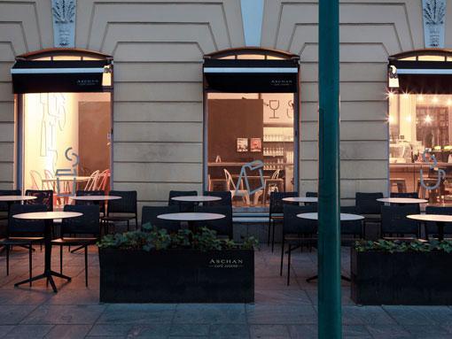 Aschen Deli Restaurant Branding Grits Grids