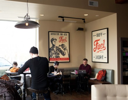 Fuel america coffee branding grits grids for Interior design agency brighton