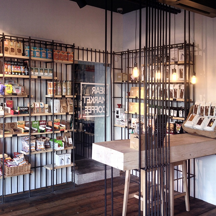 Interior design for Bear Market Coffee - Grits + Grids