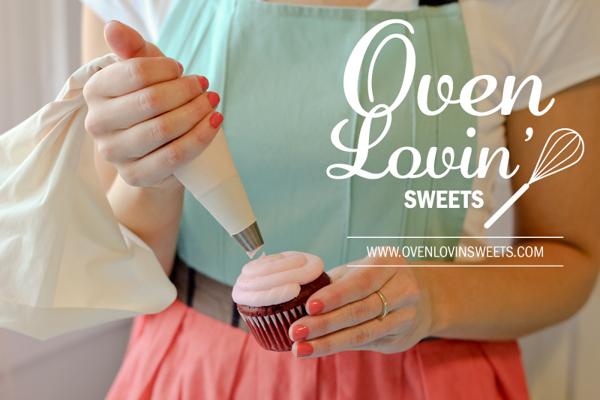 Oven Lovin Sweets bakery branding