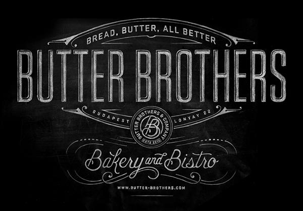 Butter Bakery & Bistro branding