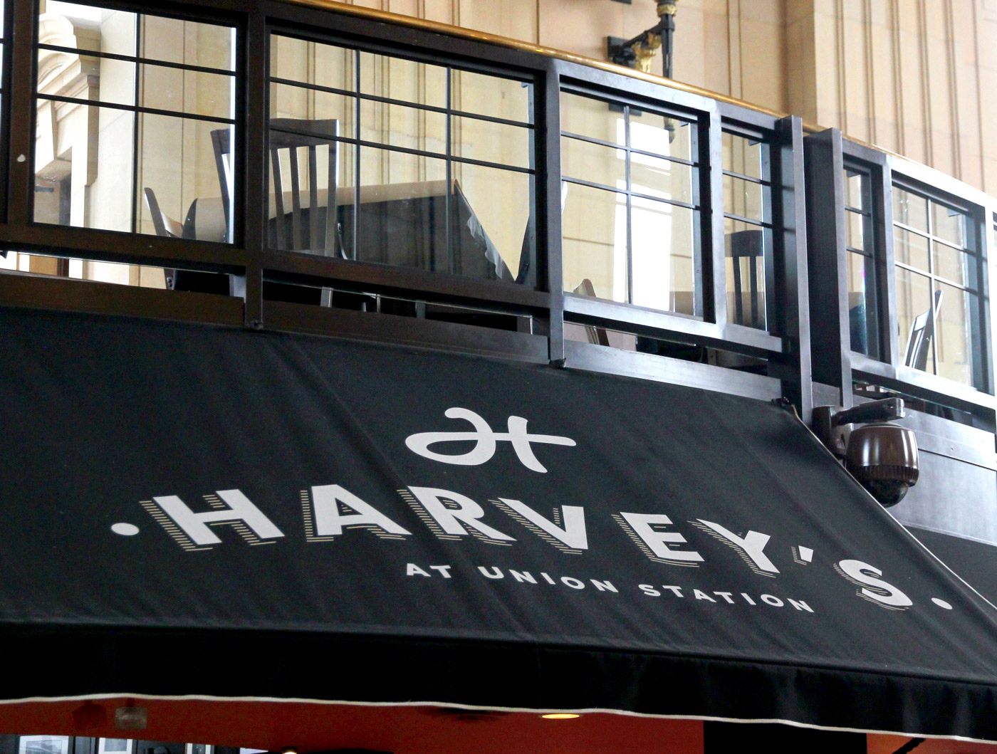 Harvey's at Union Square Restaurant branding