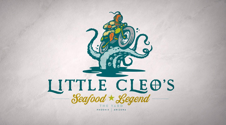 Little Cleo's Seafood Restaurant Branding