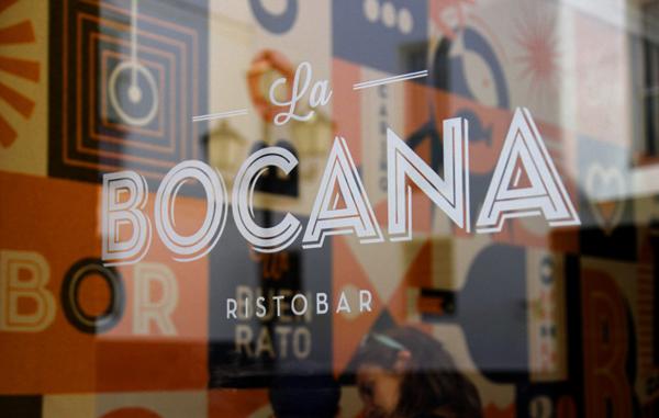 La Bocana restaurant and bar branding by raul gomez