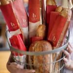 La Brea bakery branding by Hornall Anderson