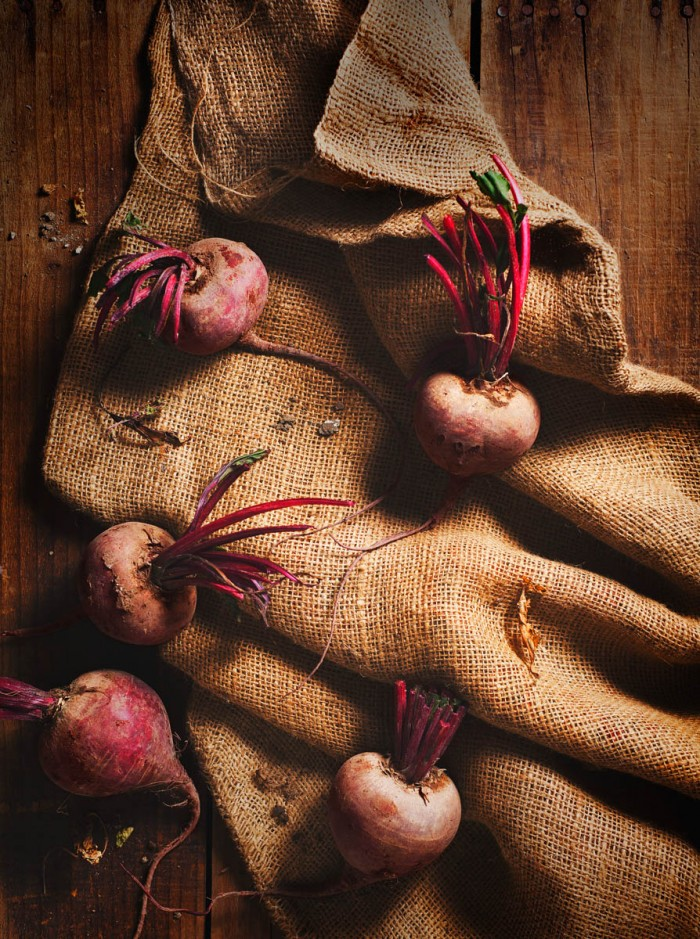 Beets: Personal project of fall beets found at the a local farmer's market in Los Angeles.