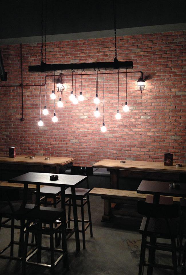 Barron restaurant and bar branding by Cursor Design