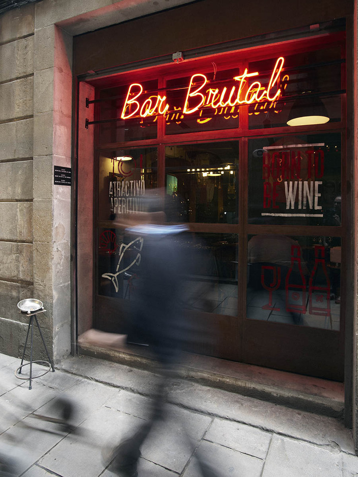 Bar Brutal restaurant and bar branding by Lo Siento design studio