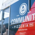 Community Pizzeria food truck branding by Foundry Collective