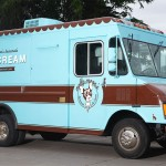 Molly Moon's ice cream food truck branding by Urban Influence