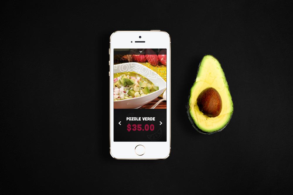 Viva Pozole mexican restaurant branding by Miguel Basurto
