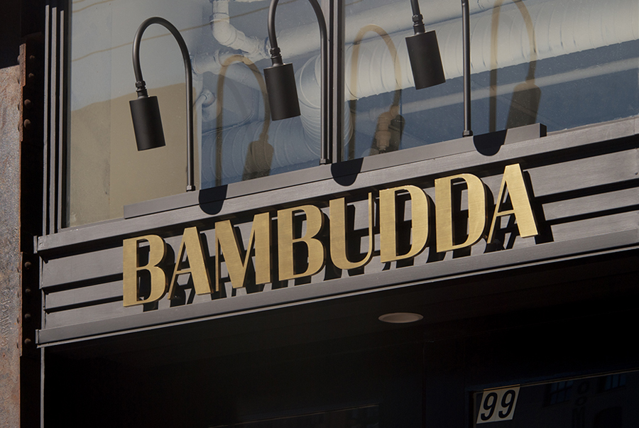 Bambudda restaurant branding by Post projects