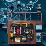 Joben Cafe's steampunk Jules Verne inspired interior design by Sixth Sense