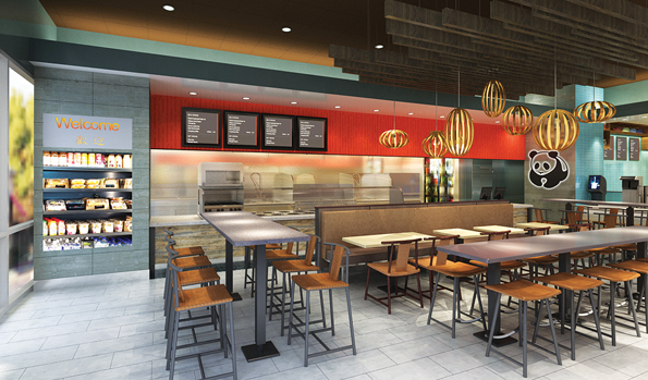 Test Kitchen Design panda express - test kitchen and brand positioning - grits + grids
