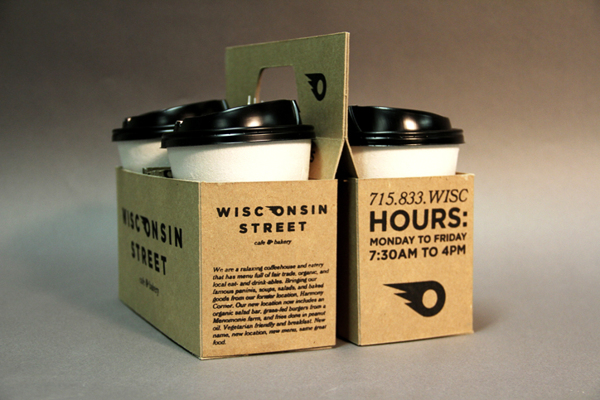 Wisconsin Street coffee branding and packaging by RT Vrieze