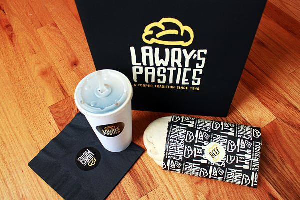 Lawry's Pasties cafe branding by Allison Supron