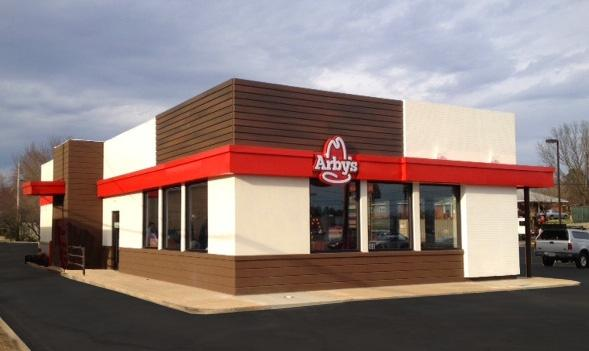 Does the new arby 39 s remodel look like a wendy 39 s ripoff for Mcdonalds exterior design