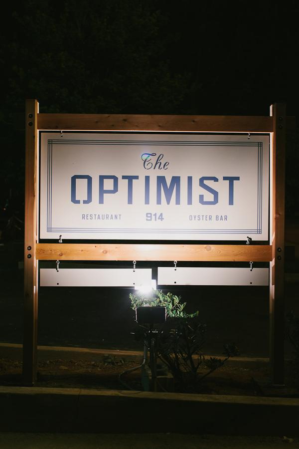 The Optimist restaurant branding by Alvin Diec
