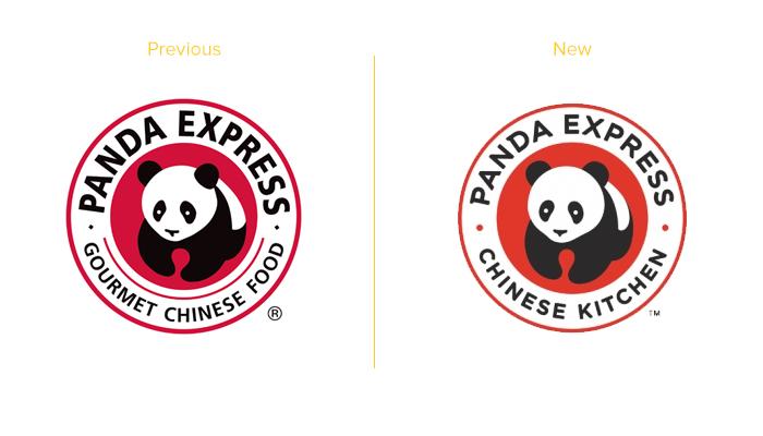 Panda Express new logo design