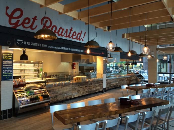 Roast bbq restaurant branding grits grids