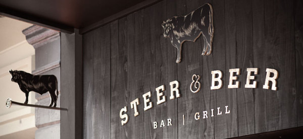 Steer And Beer Restaurant And Bar Branding
