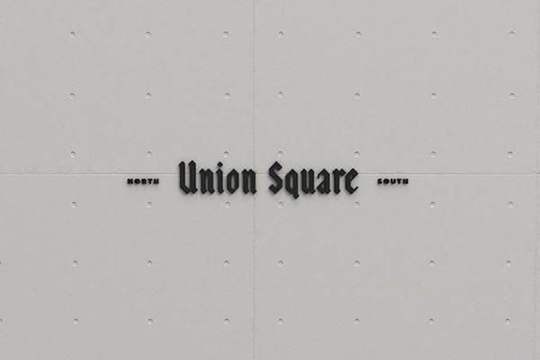 Union Square Diner branding by Sorbet Design