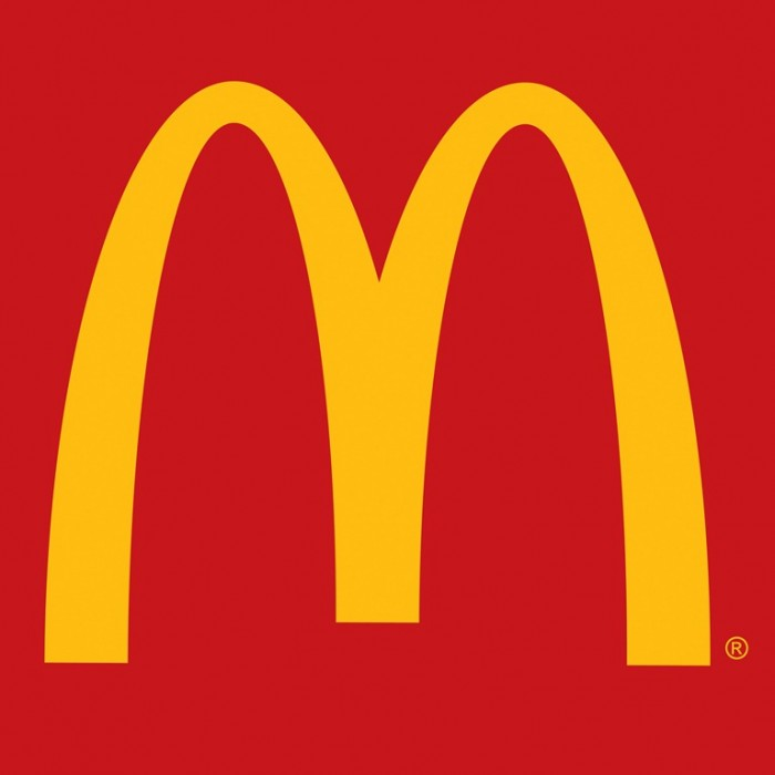 McDonald's restaurant logo design