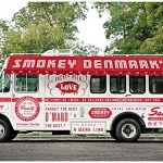 Smokey Denmark's food truck and food package design by McGarrah Jessee