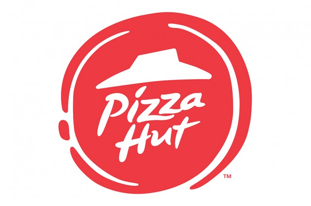 New pizza hut logo branding