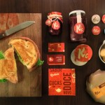 Ker Cucas cafe restaurant branding by Bigode Ideias in Brazil