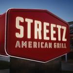 Streetz American Grill restaurant branding by Cue