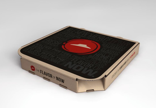 Pizza Hut rebranding branding design by Deutsch LA