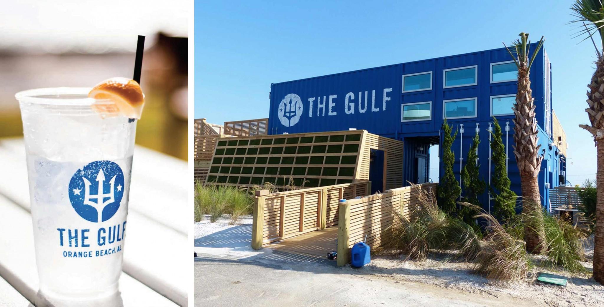 The Gulf restaurant branding by BIG