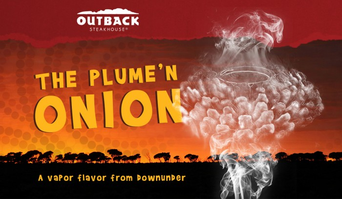 Outback Steakhouse Bloomin Onion flavored vapor