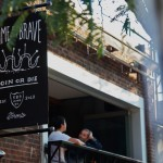 Home of the Brave cafe restaurant branding by Jon Contino