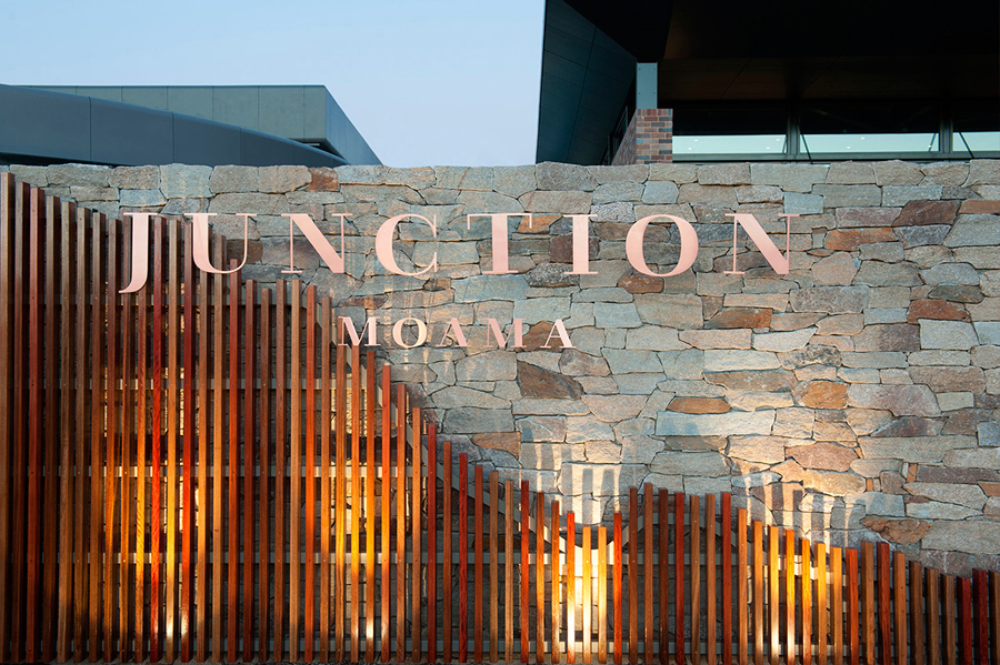 Junction Moama restaurant branding by Seesaw