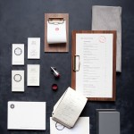 The 404 hotel and restaurant kitchen branding by Benji Peck