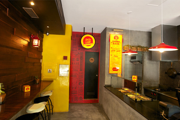 On the wok restaurant branding interiors grits grids
