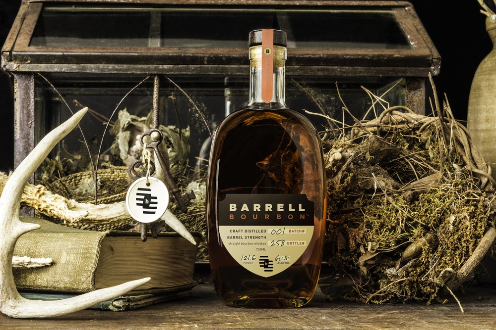 Barrell Bourbon package design and branding by Rory Jensen