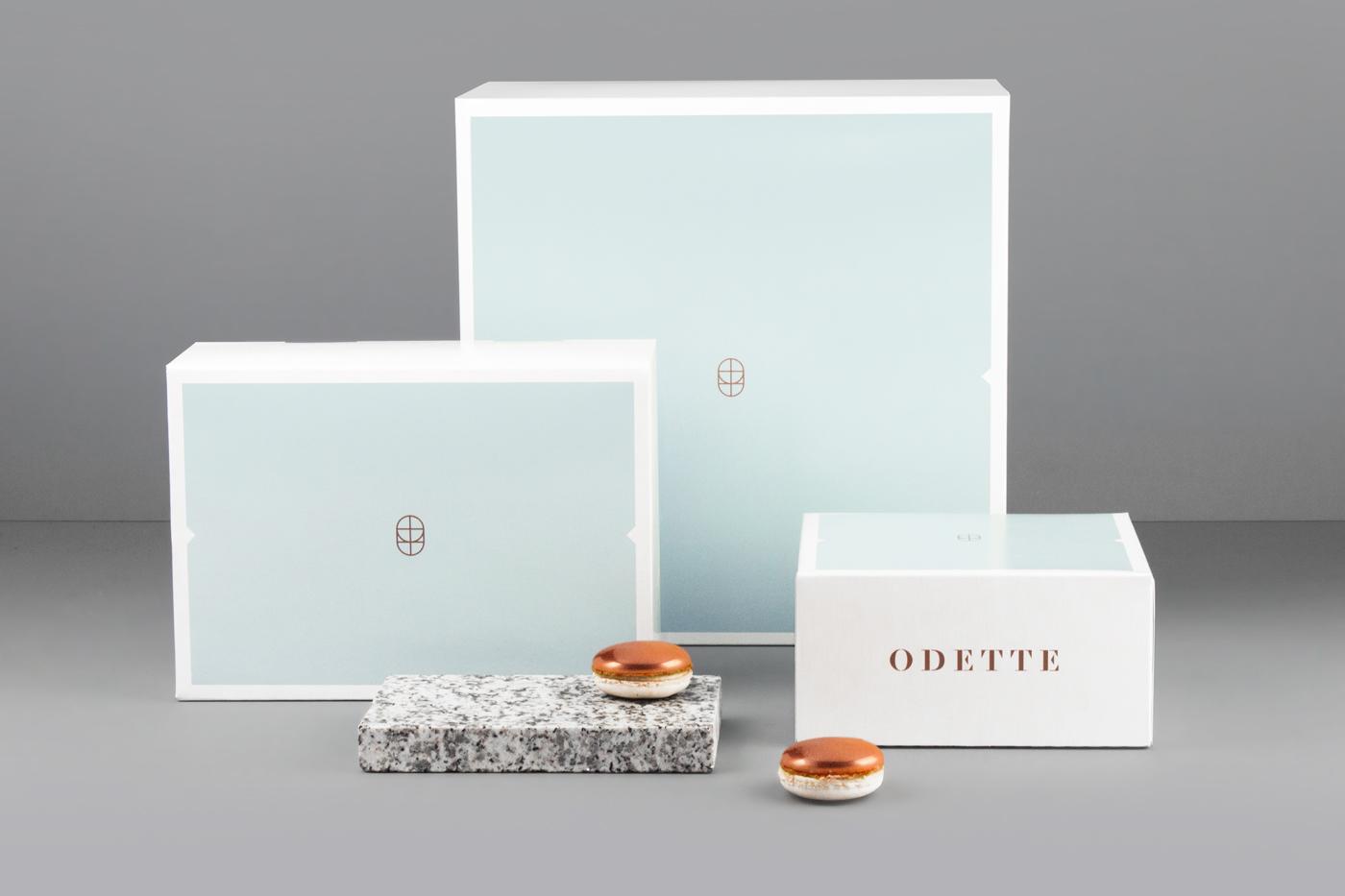 Odette Bakery branding by Dmowski & Company Poland