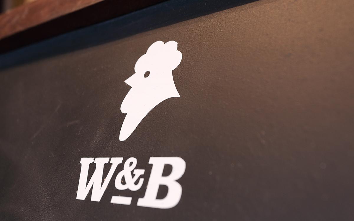 Whyte & Brown restaurant branding by October Associates in London