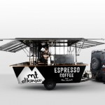 Mt Atkinson cafe coffee branding by 485 Design in New Zealand