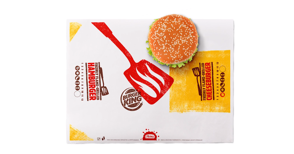 Burger King rebranding design by Turner Duckworth