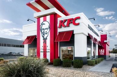 KFC new restaurant design by FRCH Design Worldwide