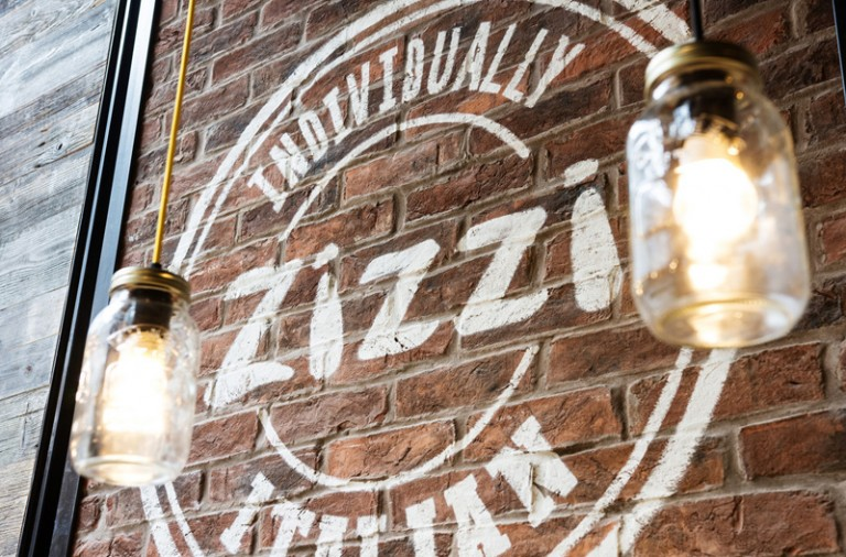 Zizzi fresh italian pizza restaurant branding and design by Tobias Hill London, UK