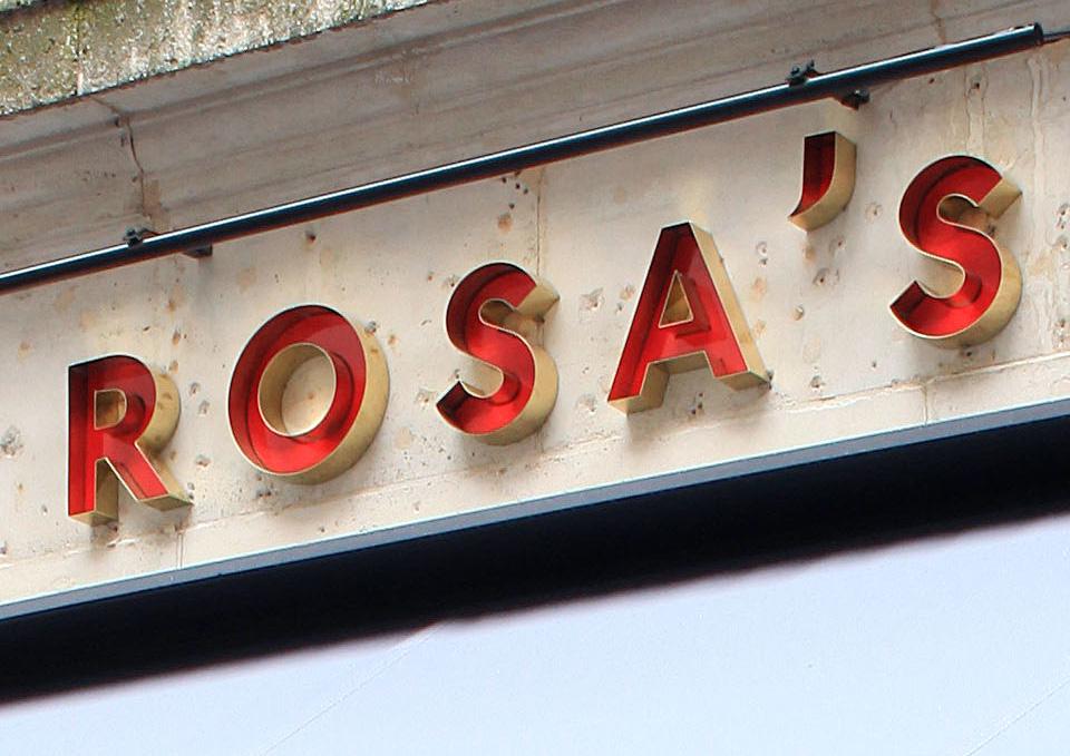 Rosa's thai cafe branding by Buro Creative in London, United Kingdom