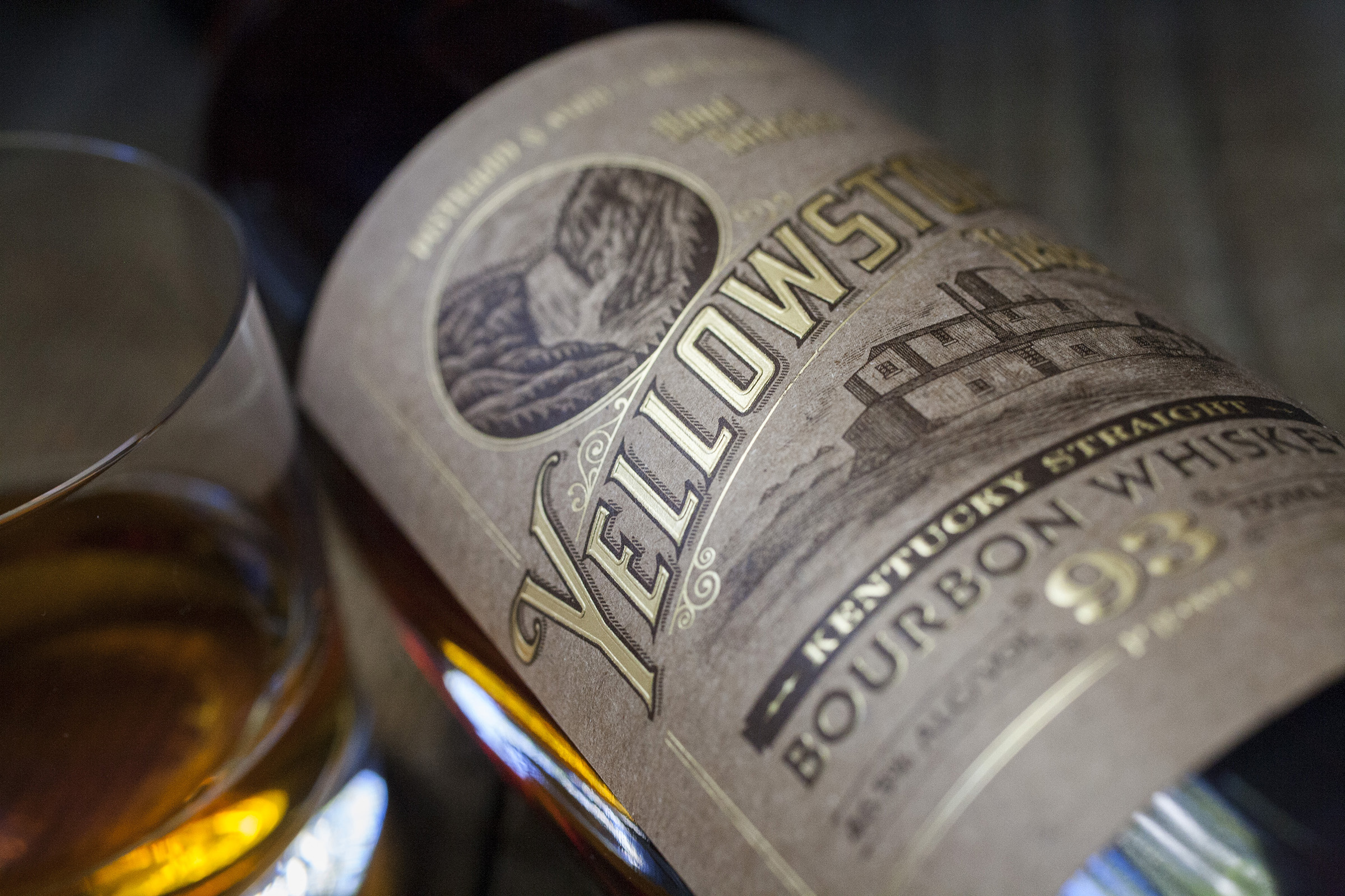 Yellowstone Select Bourbon packaging and branding by David Cole Creative in Seattle Washington USA