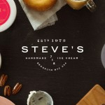 Steve's Ice Cream packaging design branding by Chris Allen in New York
